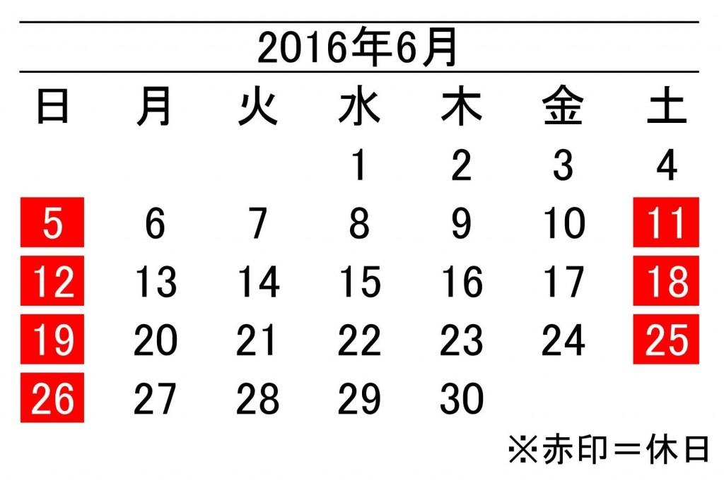 年間カレンダー6